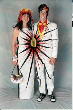 Duct Tape Stuck at Prom contest  duct tape outfits  Pinterest ...
