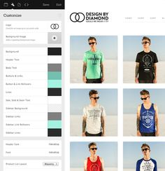 Big Cartel is for small e-commerce websites only. Pricing is between $0-$29.99/mo. Set up, check out, and customizations are super easy to implement. Custom HTML and CSS can be applied as well as additional customizable templates available for purchase. http://bigcartel.com/