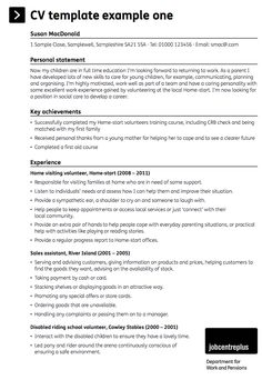 this examples sales assistant sample cv we will give you a refence start on building resume you can optimized this example resume on creating resume for