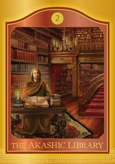 Akashic Tarot ~ Akashic Library