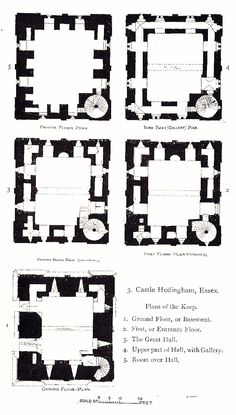 plan castle plans floor google architecture annotated medieval hedingham arquitectura english plantas norwich tiny dibujos deconcrete από αποθηκεύτηκε guardado desde