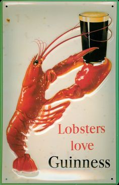 FOOD,COLLECTABLE,ENAMEL,METAL SIGN,329 COOKING KITCHEN SEAFOOD LOBSTER BAR