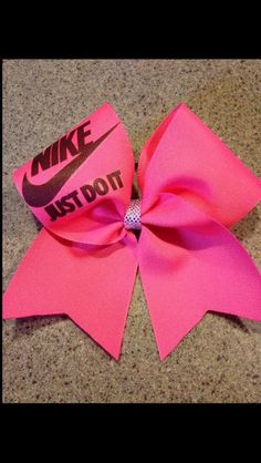3 quality cheer bow with heat sealed edges. Great for any sport occasions. Always made to order
