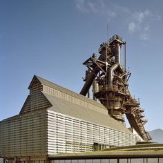Grimshaw architects converted a decommissioned blast furnace into a museum of steel in Monterrey, Mexico.