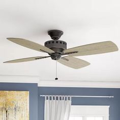 "17 Stories 52"" Sherise Patio 4 Blade Outdoor Ceiling Fan & Reviews 