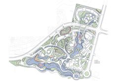 Landscape Sketch, Landscape Design Plans, Architecture Building Design, Landscape Architecture, Plan Sketch, Park Resorts, Master Plan, Urban Planning, Urban Design