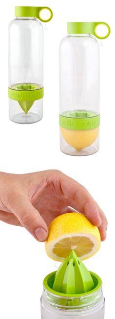 Citrus-infusing water bottle