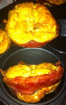 JD's Low Carb / High Protein Egg Muffins Recipe by XENAGAIN via @SparkPeople