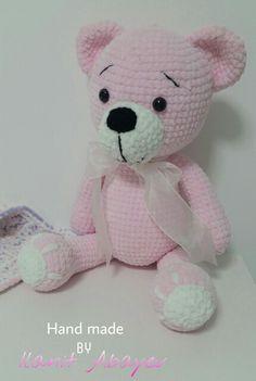 Crochet Teddy, Knit Or Crochet, Cute Crochet, Crochet For Kids, Crochet Dolls, Activity Bags, Cotton Blankets, Crochet Animals, Baby Toys