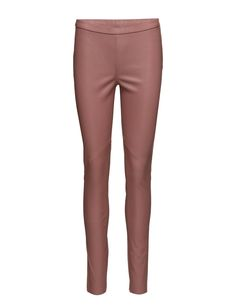 Day Plongy - RIAD ROSE- Leather Leggings Stretch fabric Made from leather Cool Classic Simple Leather Leggings, Uk Shop, Stretch Fabric, Must Haves, Khaki Pants, Trousers, Feminine, Sweatpants, Pairs
