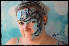 Ohne zahn /toothless Airbrush, Zahn, Tattoos, Body Art, Carnival, Kids Makeup, Bodypainting, Mardi Gras, Tatuajes