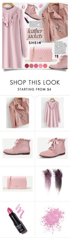 """""""Cool-Girl Style: Leather Jackets"""" by samra-bv ❤ liked on Polyvore featuring Estée Lauder, NYX and Kjaer Weis"""