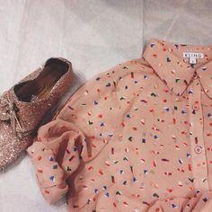 Anniel Soft Shoes Glitter Pink www.annielmoda.com
