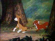 The Fox and the Hound - Best of Friends (Finnish) The Fox And The Hound, Best Friends, Disney, Painting, Art, Princesses, Bestfriends, Art Background, Painting Art