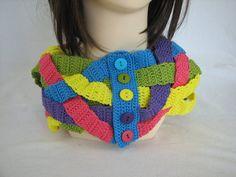 Die 63 Besten Bilder Von Häkeln Loops Schals Tücher Etc Knit