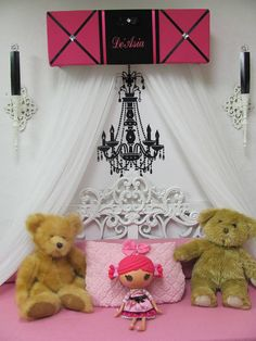 Ballet Princess Ballerina Embroidered Bed Canopy CROWN PiNk Black Personalized Free Monogram So Zoey Boutique Custom Design SaLe - Ballet Princess Ballerina Embroidered Bed Canopy CROWN PiNk Black Personalized Free Monogram So Zoe - Custom Canopy, White Sheer Curtains, Embroidered Bedding, Free Monogram, Canopy Design, Earring Display, Desk Set, Toy Organization, Color Schemes