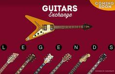 Próximamente, en colaboración con Guitars Exchange, hemos ilustrado las 14 guitarras más importantes del siglo XX, un regalo visual para los amantes de la música, las guitarras y el diseño.