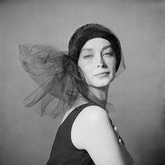 Dorian Leigh, 1960.  Photograph by Brian Duffy.