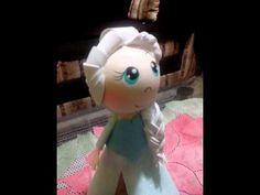 Fofucha Elsa frozen - YouTube