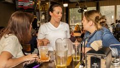 """Week 21 - Newcomers, """"Girl Talk,"""" were hoping to get a few clues from the host during the 1st half of trivia."""