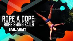 Latest Funny Videos - Rope a Dope: Rope Swing Fails (September Latest Funny Videos, Vines Funny Videos, Rope Swing, Sit Back, Tarzan, You Videos, Funny Fails, Pranks, Just In Case