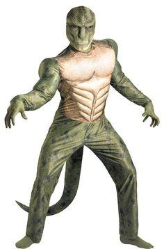 Costumes! Halloween Horror! Lizard Man Reptilian Elite Alien Muscle Set AD 42-46 #dg #costume #halloween