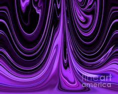 Flowing Purple Blended with Black Unique Abstract Design by Adri  www.mindingmyvisions.com https://www.facebook.com/mindingmyvisions
