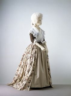 Gown  1785  The Victoria & Albert Museum