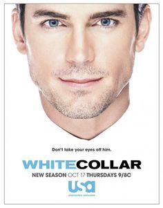 White Collar TV Poster