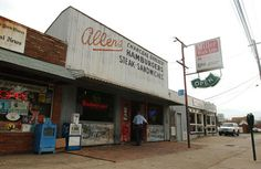 """Allen's / Athens, GA - """"Going down to Allen's for a twenty-five cent beer and the jukebox playing real loud, '96 Tears'. We're wild girls walkin' down the street. Wild girls and boys going out for a big time."""" (B52's \ Deadbeat Club)"""