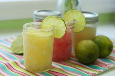 Make-Ahead Mango & Raspberry Margaritas : Oven Love