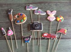 Cookies On A Stick  .