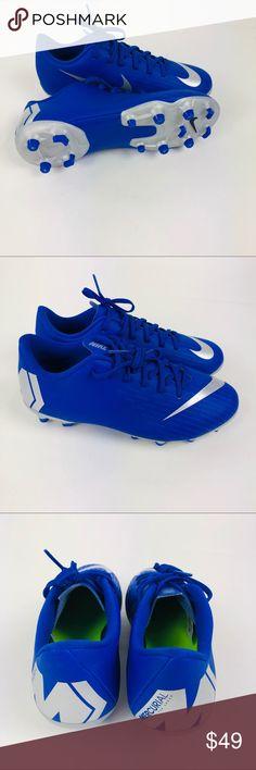 Nike Jr Mercurial Vapor 12 Academy Soccer Cleat 3Y Nike Jr Mercurial Vapor  12 Academy MG a8204322bb151