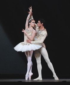 Marianela Nuñez and Thiago Soares in Diamonds