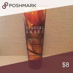 Sensual Amber by Bath & Body This is a tube of 8 oz Bath & Body Works Ultra Shea Body Cream. Please make an offer or bundle to save yourself some shipping charges. Follow me I'll follow you! Please check out the rest of my closet too! Bath & Body Works Other