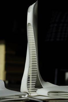 Ras Al Khaimah Gateway – Snøhetta Parametric Architecture, Architecture Board, Architecture Drawings, Concept Architecture, Futuristic Architecture, School Architecture, Amazing Architecture, Architecture Design, Zaha Hadid Design