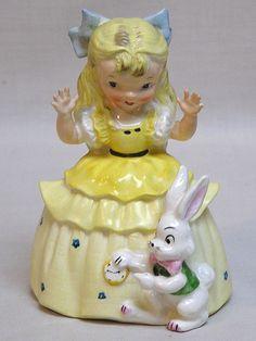 Vintage Napco Alice In Wonderland Figurine