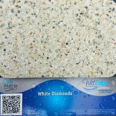 Satin Matrix White Diamonds