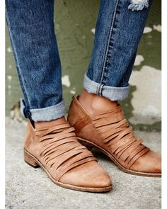 Free People   Brown Lost Valley Ankle Boot   Lyst