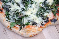 grilled greens pizza 4 Grilled Greens Pizza – Friday Night Bite