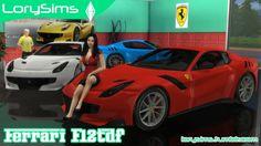 Ferrari F12tdf at LorySims • Sims 4 Updates