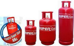 SUPER Gas LPG Cylinders for Domestic, Commercial and Industrial Purpose for all