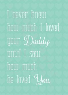 Love.  I remember the first time my sweetheart held our first baby.  I totally felt this way!