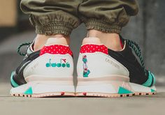 Castells-Inspired Sneakers - The Diadora N.9000 is Inspired by the Spanish Tradition of Castells (GALLERY)