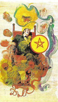 King of Pentacles http://thetarotnook.com/2013/02/15/tarot-card-of-the-week-king-of-pentacles/
