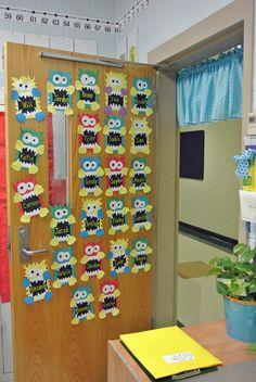 Preschool Classroom Themes Monster Theme Decor Kindergarten Toddler Door Setting
