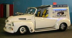 """Hot Rod Ice Cream Truck-The  song it's playing is """"Ice Cream Man"""" VanHalan style!!!!"""