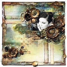 Steampunk Love - 7DS, Prima, Sizzix by finnabair, via Flickr