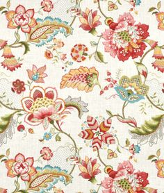 Kaufmann Ophelia Blossom Fabric, fabric to cover headboard
