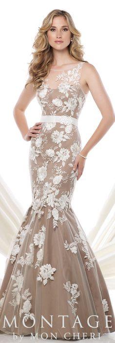 Montage by Mon Cheri Spring 2015 - Style No. 115961  montagebymoncheri.com #eveningdresses #motherofthebridedresses